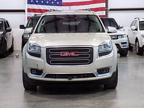 2016 GMC Acadia for sale at Texas Motor Sport in Houston TX