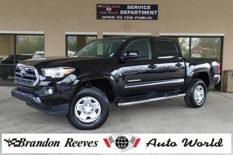 2016 Toyota Tacoma for sale at Brandon Reeves Auto World in Monroe NC