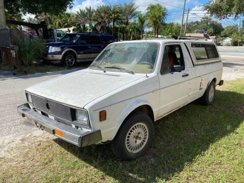 1980 Volkswagen Rabbit/Caddy for sale at OVE Car Trader Corp in Tampa FL