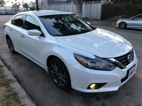 2018 Nissan Altima for sale at Autobahn Auto Sales in Los Angeles CA