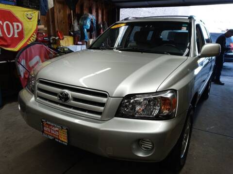 2006 Toyota Highlander for sale at RON'S AUTO SALES INC in Cicero IL