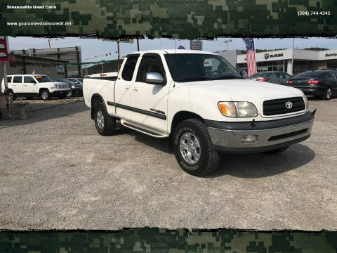 2000 Toyota Tundra for sale at Sissonville Used Cars in Charleston WV