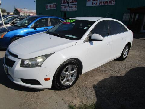 2013 Chevrolet Cruze for sale at Cars 4 Cash in Corpus Christi TX