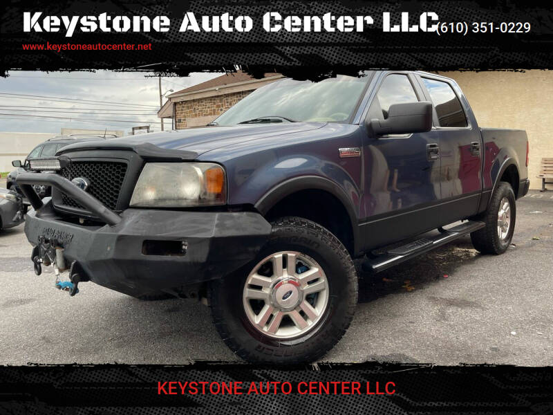 2004 Ford F-150 for sale at Keystone Auto Center LLC in Allentown PA