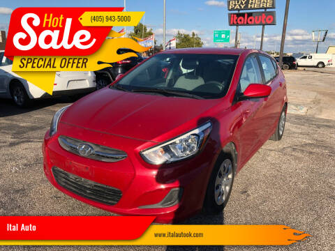 2017 Hyundai Accent for sale at Ital Auto in Oklahoma City OK