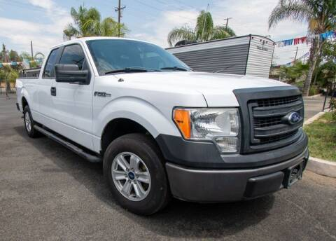 2014 Ford F-150 for sale at GQC AUTO SALES in San Bernardino CA