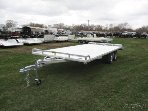 2022 Aluma Utility 1020TA-BT-DT-RR-RTD for sale at Rondo Truck & Trailer in Sycamore IL