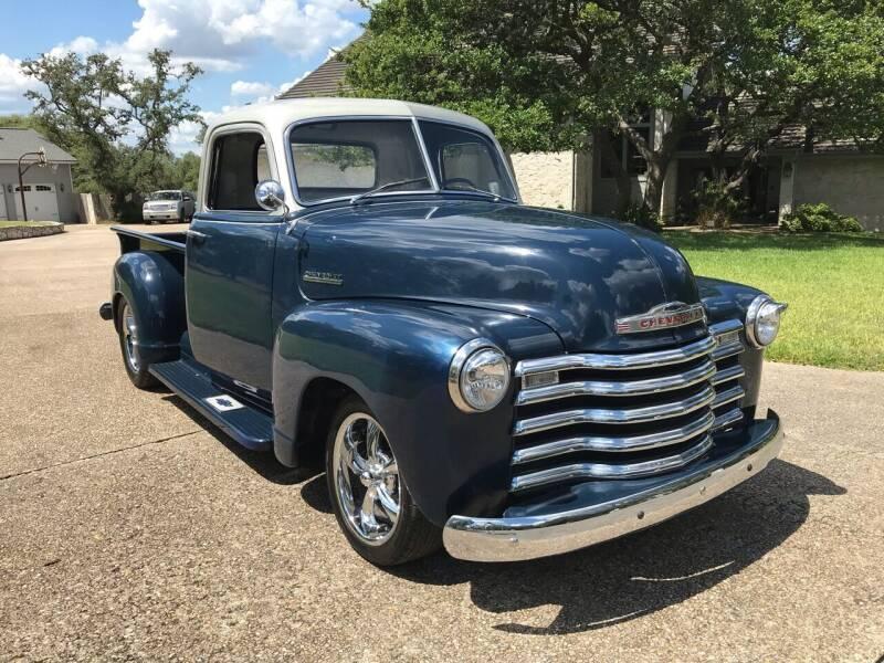 1952 Chevrolet C/K 1500 Series for sale at Mafia Motors in Boerne TX