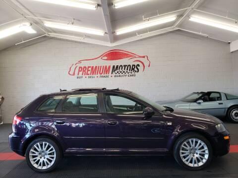 2006 Audi A3 for sale at Premium Motors in Villa Park IL