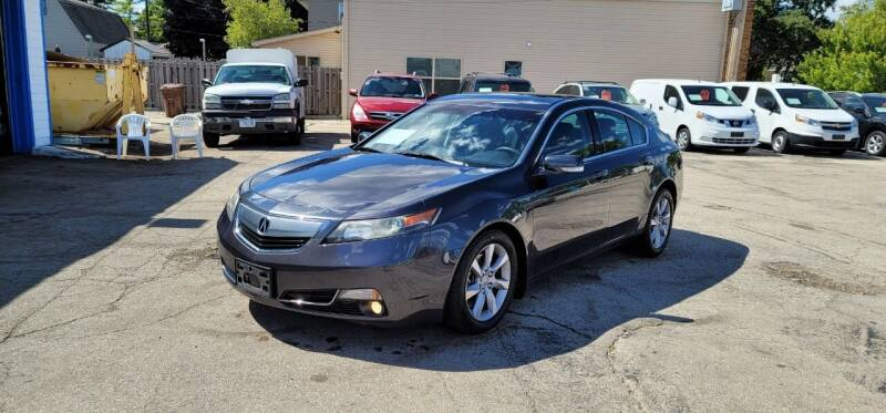 2012 Acura TL for sale at MOE MOTORS LLC in South Milwaukee WI
