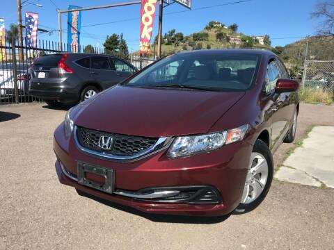 2014 Honda Civic for sale at Vtek Motorsports in El Cajon CA