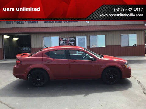 2014 Dodge Avenger for sale at Cars Unlimited in Marshall MN