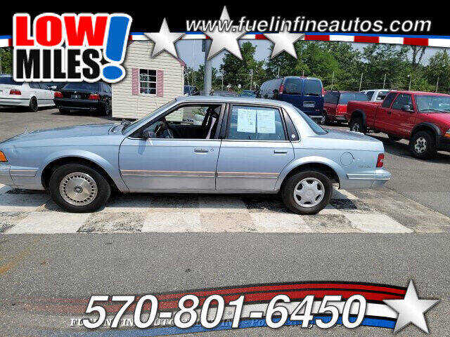 1994 Buick Century for sale at FUELIN FINE AUTO SALES INC in Saylorsburg PA