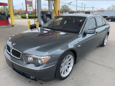 2003 BMW 7 Series for sale at Trocci's Auto Sales in West Pittsburg PA