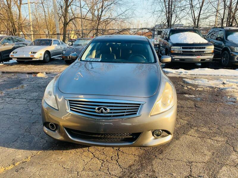 2012 Infiniti G37 Sedan for sale at Ohio Auto Connection Inc in Maple Heights OH