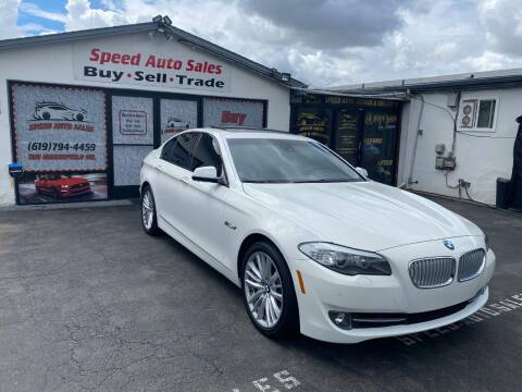 2011 BMW 5 Series for sale at Speed Auto Sales in El Cajon CA
