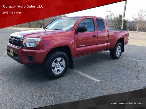 2013 Toyota Tacoma for sale at Corazon Auto Sales LLC in Paterson NJ