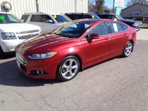 2014 Ford Fusion for sale at De Anda Auto Sales in Storm Lake IA