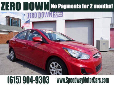 2013 Hyundai Accent for sale at Speedway Motors in Murfreesboro TN
