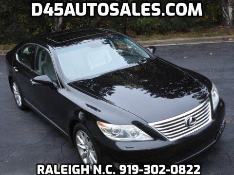 2010 Lexus LS 460 for sale at D45 Auto Brokers in Raleigh NC