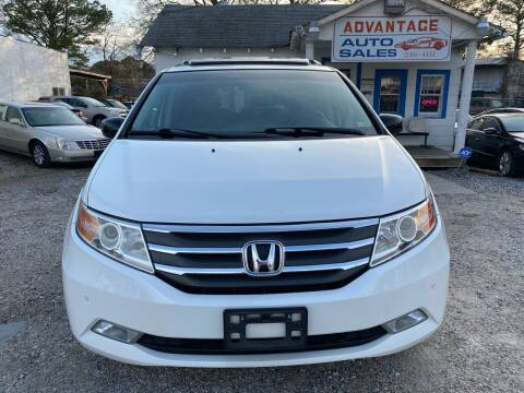 2012 Honda Odyssey for sale at Advantage Motors in Newport News VA