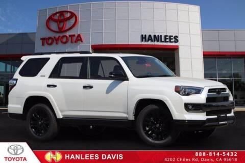 2021 Toyota 4Runner for sale at Hanlees Davis Toyota in Davis CA