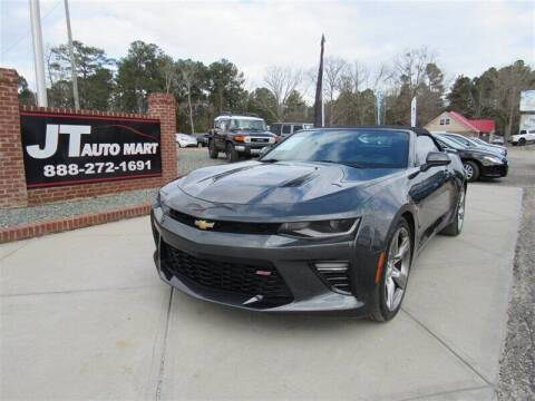 2017 Chevrolet Camaro for sale at J T Auto Group in Sanford NC