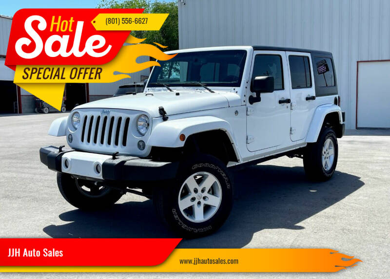 2017 Jeep Wrangler Unlimited for sale at JJH Auto Sales in Salt Lake City UT