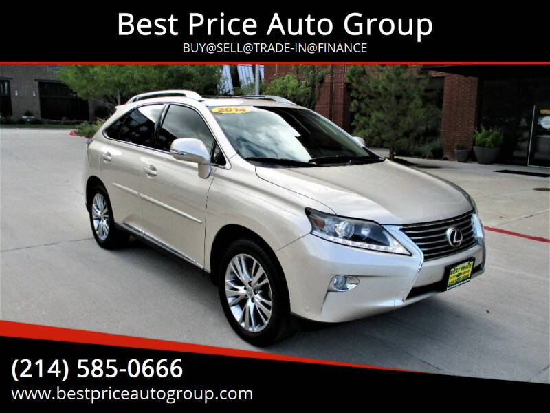 2014 Lexus RX 350 for sale at Best Price Auto Group in Mckinney TX