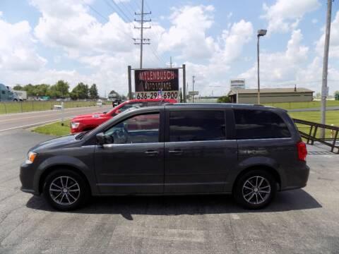2017 Dodge Grand Caravan for sale at MYLENBUSCH AUTO SOURCE in O` Fallon MO