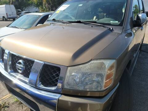 2005 Nissan Armada for sale at Castle Used Cars in Jacksonville FL