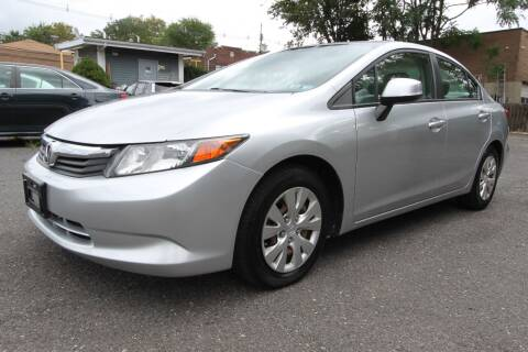 2012 Honda Civic for sale at AA Discount Auto Sales in Bergenfield NJ