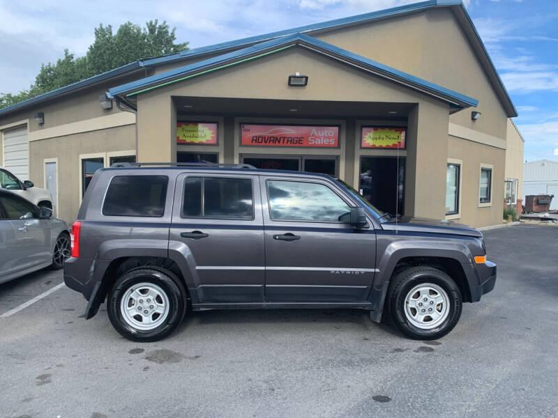 2016 Jeep Patriot for sale at Advantage Auto Sales in Garden City ID