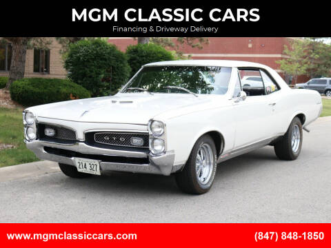 1967 Pontiac GTO for sale at MGM CLASSIC CARS-New Arrivals in Addison IL