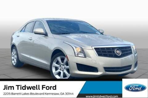 2013 Cadillac ATS for sale at CU Carfinders in Norcross GA