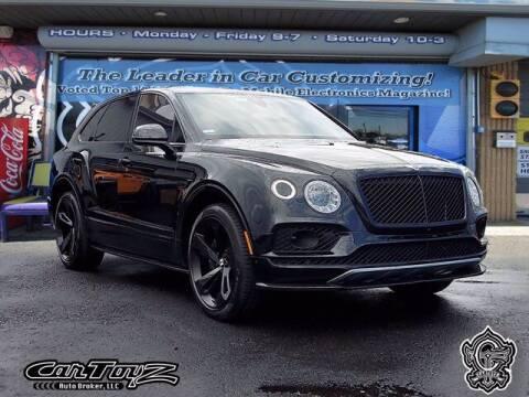 2018 Bentley Bentayga for sale at Distinctive Car Toyz in Pleasantville NJ