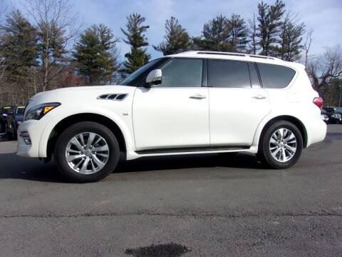 2017 Infiniti QX80 for sale at Mark's Discount Truck & Auto Sales in Londonderry NH