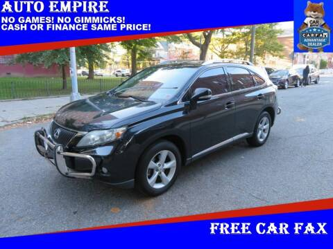 2010 Lexus RX 350 for sale at Auto Empire in Brooklyn NY