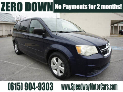 2013 Dodge Grand Caravan for sale at Speedway Motors in Murfreesboro TN