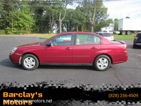 2005 Chevrolet Malibu for sale at Barclay's Motors in Conover NC