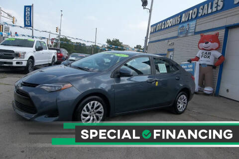 2017 Toyota Corolla for sale at Highway 100 & Loomis Road Sales in Franklin WI