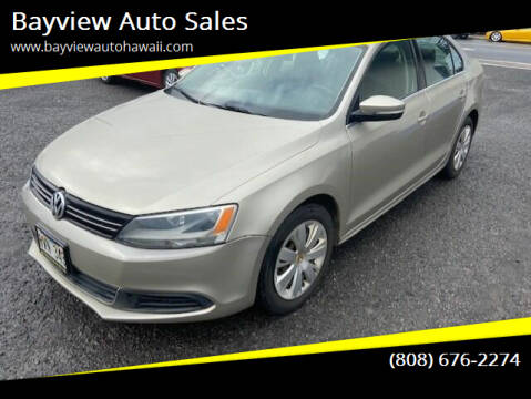 2013 Volkswagen Jetta for sale at Bayview Auto Sales in Waipahu HI