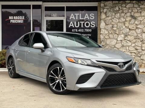2019 Toyota Camry for sale at ATLAS AUTOS in Marietta GA