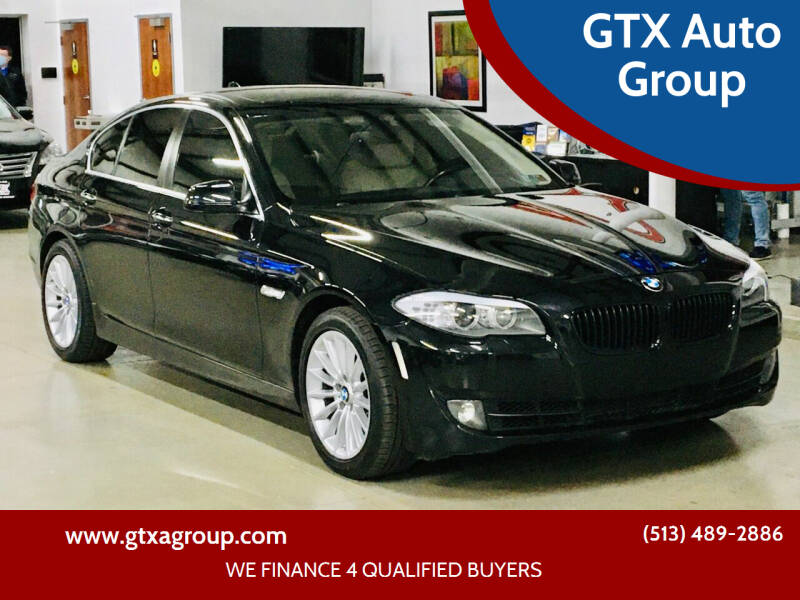 2011 BMW 5 Series for sale at GTX Auto Group in West Chester OH
