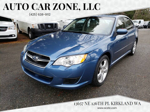 2009 Subaru Legacy for sale at Auto Car Zone, LLC in Kirkland WA