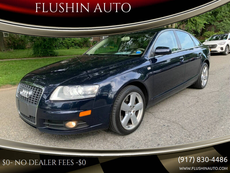 2008 Audi A6 for sale at FLUSHIN AUTO in Flushing NY