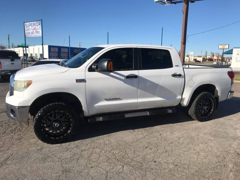 2007 Toyota Tundra for sale at Superior Used Cars LLC in Claremore OK
