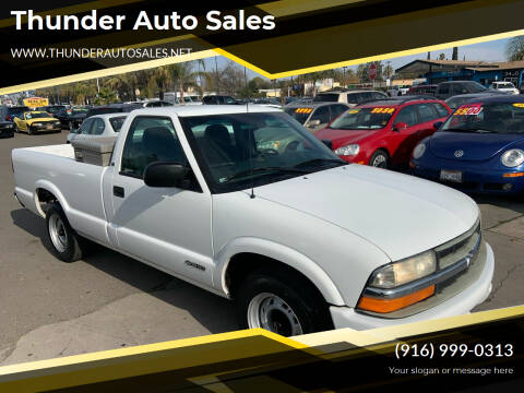 2000 Chevrolet S-10 for sale at Thunder Auto Sales in Sacramento CA