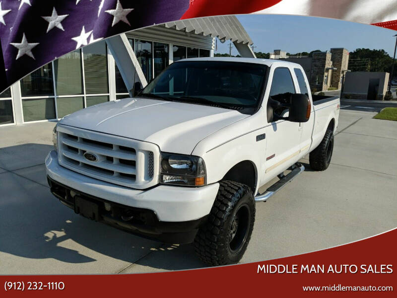 2003 Ford F-250 Super Duty for sale at Middle Man Auto Sales in Savannah GA