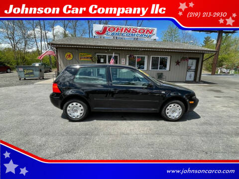 2003 Volkswagen Golf for sale at Johnson Car Company llc in Crown Point IN